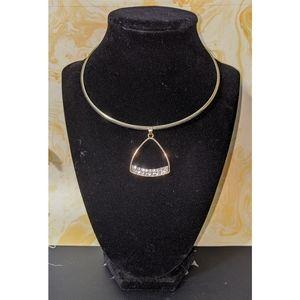 Dazzling Triangle Pendant Necklace